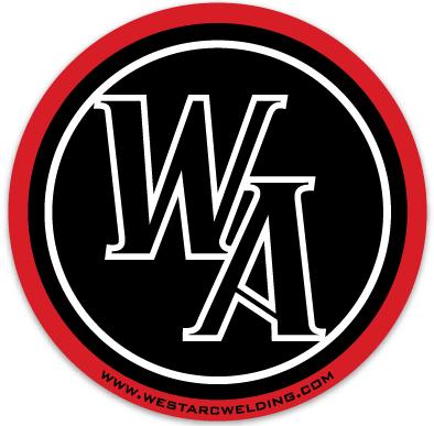 """WA Circle Sticker 2"""" x 2"""""""