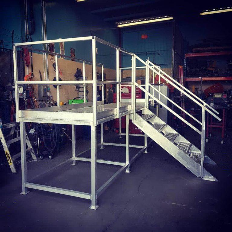 Aluminium Stair Weld